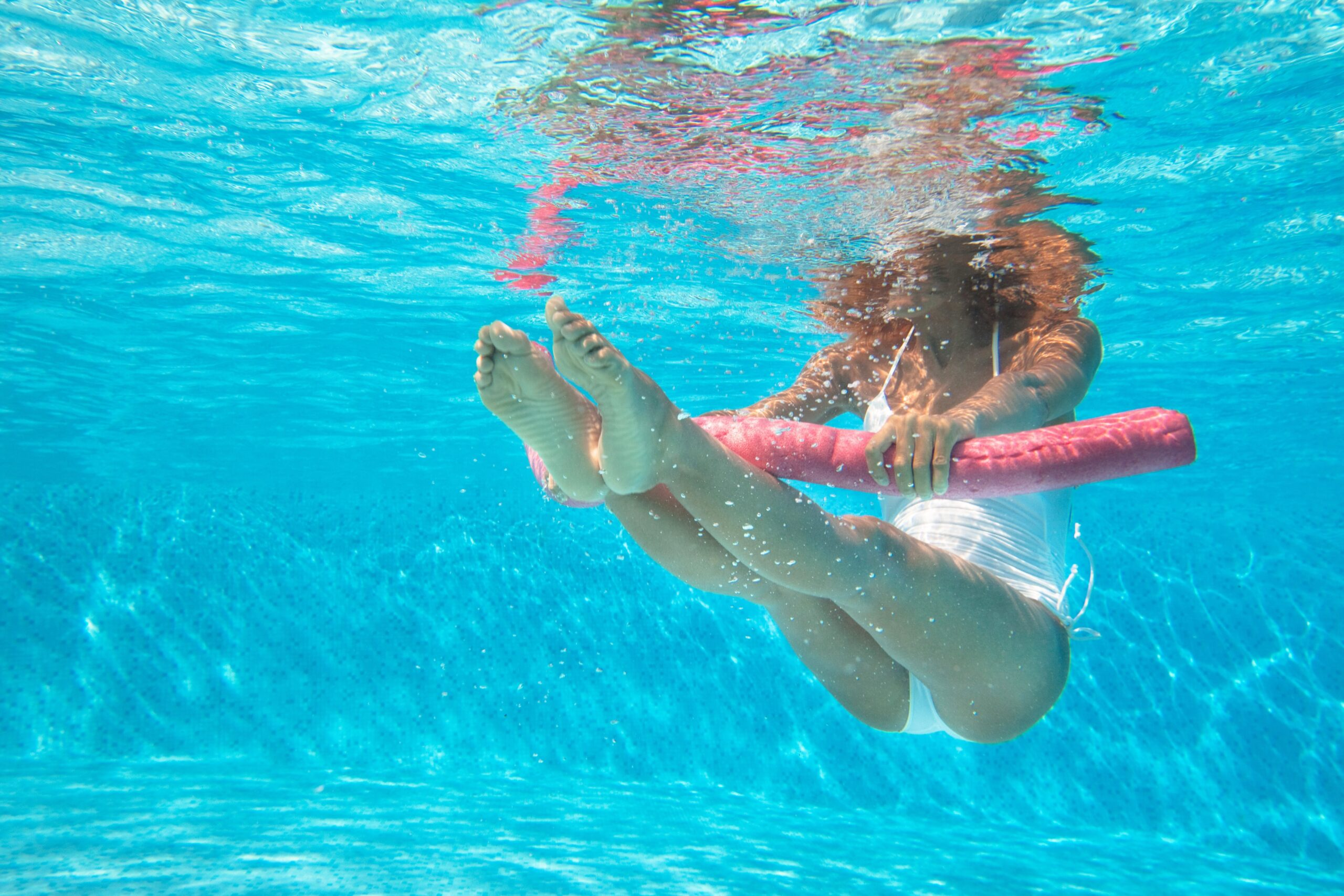 Water Aerobics Engages the Core in Body and Soul
